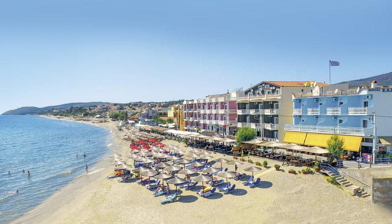 Pauschalreise Hotel Griechenland,     Thassos,     Ralitsa Hotel in Limenaria