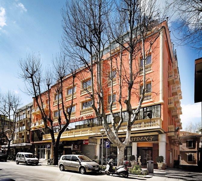 Pauschalreise Hotel Italien,     Italienische Adria,     President in Rimini