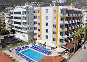 Hotel   Türkische Riviera,   Kleopatra Arsi in Alanya  in der Türkei in Eigenanreise