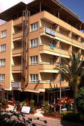 Hotel   Türkische Riviera,   Özcan in Kleopatra Beach  in der Türkei in Eigenanreise