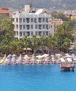 Hotel   Türkische Ägäis,   Hotel Palm Beach in Marmaris  in der Türkei in Eigenanreise