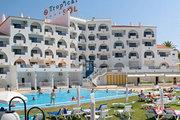 Hotel   Algarve,   Tropical Sol in Albufeira  in Portugal in Eigenanreise