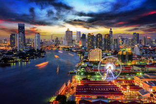 Billige Flüge nach Bangkok & Airy Suvarnabhumi Hotel in Bangkok