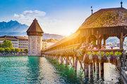 Schweiz,     Luzern Stadt & Kanton,     De la Paix in Luzern  ab Saarbrücken SCN