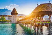 Schweiz,     Luzern Stadt & Kanton,     Le Stelle in Luzern  ab Saarbrücken SCN