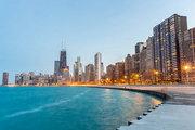 USA,     Illinois,     Palmer House Hilton in Chicago  ab Saarbrücken SCN