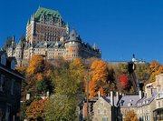 Kanada,     Quebec,     Fairmont Le Château Frontenac in Quebec City  ab Saarbrücken SCN
