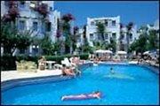 Hotel   Halbinsel Bodrum,   Serhan Hotel in Gümbet  in der Türkei in Eigenanreise