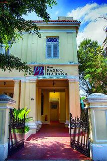 Hotel   Havanna & Umgebung,   Paseo Habana in Havanna  in Kuba in Eigenanreise