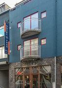 Hotel Island,   Island,   Fron in Reykjavik  in Island und Nord-Atlantik in Eigenanreise