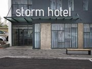 Hotel Island,   Island,   Storm in Reykjavik  in Island und Nord-Atlantik in Eigenanreise