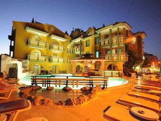 Hotel   Türkische Ägäis,   Poyraz Apart in Marmaris  in der Türkei in Eigenanreise