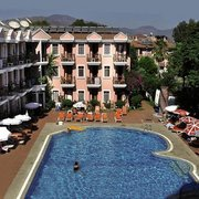 Günes Hotel in Calis Beach (Türkei)