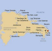 Das Hotel Paradisus Palma Real Resort im Urlaubsort Punta Cana