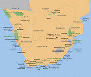 Billige Flüge nach Windhoek (Namibia) & Moni in Windhoek