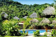 Hotel Cook-Inseln,   Cook Island,   ETU Moana Beach Villas in Aitutaki  in der Südsee Pazifik in Eigenanreise