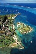 Hotel Französisch-Polynesien,   Tahiti,   Intercontinental Resort Tahiti in Tahiti  in der Südsee Pazifik in Eigenanreise