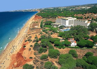 Hotel   Algarve,   Alfamar Beach and Sport Resort & Algarve Gardens in Praia da Falesia  in Portugal in Eigenanreise