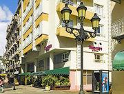 Das Hotel Novus Plaza Hodelpa im Urlaubsort Santo Domingo