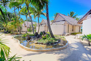 Hotel Cook-Inseln,   Cook Island,   Little Polynesian Resort in Titikaveka  in der Südsee Pazifik in Eigenanreise