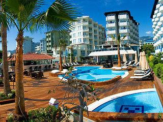 Pauschalreise Hotel Türkei, Türkische Riviera, Savk Hotel in Alanya  ab Flughafen Erfurt