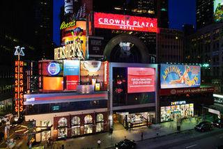 Pauschalreise Hotel USA, New York & New Jersey, Crowne Plaza Times Square Manhattan in New York City  ab Flughafen Berlin-Tegel