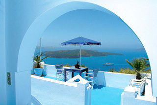Pauschalreise Hotel Griechenland, Santorin, Kafieris Blue Studios in Firostefani  ab Flughafen