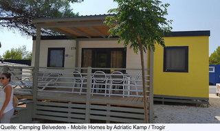 Pauschalreise Hotel Kroatien - weitere Angebote, Belvedere Camping in Trogir  ab Flughafen Basel