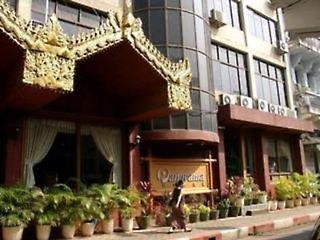 Pauschalreise Hotel Myanmar, Myanmar, Panorama in Yangon  ab Flughafen