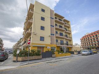 Pauschalreise Hotel Malta, Malta, Huli Hotel & Apartments in Qawra  ab Flughafen Berlin-Tegel