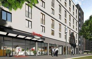 Pauschalreise Hotel Deutschland, Städte West, Hampton by Hilton Frankfurt City Centre Messe in Frankfurt am Main  ab Flughafen Amsterdam