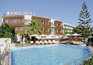 Pauschalreise Hotel Griechenland, Kreta, Minos Hotel in Rethymnon  ab Flughafen