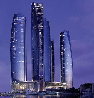Luxus Hideaway Hotel Vereinigte Arabische Emirate, Abu Dhabi, Jumeirah at Etihad Towers Hotel in Abu Dhabi  ab Flughafen Karlsruhe Baden-Baden