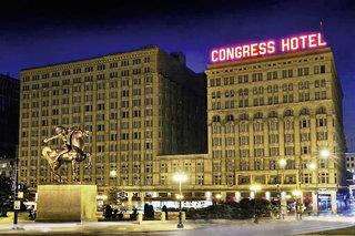 Pauschalreise Hotel Illinois, Congress Plaza in Chicago  ab Flughafen Bremen