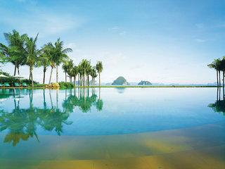Luxus Hideaway Hotel Thailand, Süd-Thailand, Phulay Bay, a Ritz-Carlton Reserve in Krabi  ab Flughafen Wien