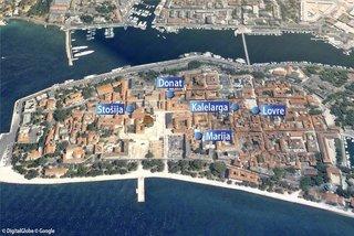 Pauschalreise Hotel Kroatien, Kroatien - weitere Angebote, Altstadt-Appartements in Zadar  ab Flughafen Düsseldorf