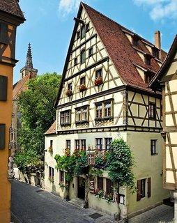 Pauschalreise Hotel Deutschland, Bayern, Reichs-Küchenmeister in Rothenburg o.d. Tauber  ab Flughafen