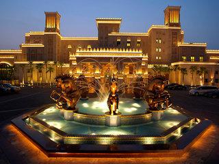Luxus Hideaway Hotel Vereinigte Arabische Emirate, Dubai, Jumeirah Al Qasr in Jumeirah  ab Flughafen Dresden