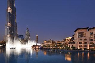 Luxus Hideaway Hotel Dubai, The Palace Downtown Dubai in Dubai  ab Flughafen Dresden