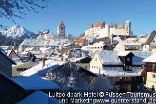 Pauschalreise Hotel Deutschland, Allgäu, Luitpoldpark-Hotel in Füssen  ab Flughafen Bruessel
