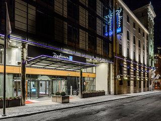 Pauschalreise Hotel Finnland, Finnland - Helsinki & Umgebung, Radisson Blu Plaza in Helsinki  ab Flughafen