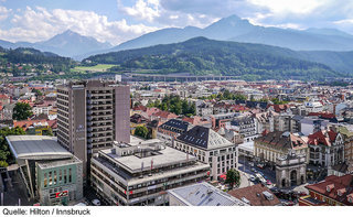 Pauschalreise Hotel Österreich, Tirol, Hilton Innsbruck in Innsbruck  ab Flughafen Düsseldorf