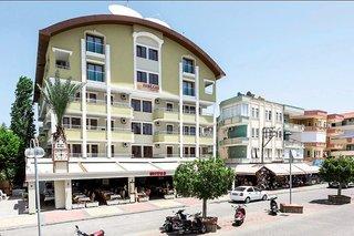 Pauschalreise Türkei,     Türkische Riviera,     Mitos (2+  Sterne Hotel ) in Alanya  incl. Flug ab Hannover