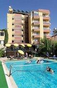 Hotel   Türkische Ägäis,   Alibabam in Kusadasi  in der Türkei in Eigenanreise