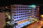 Hotel   Türkische Ägäis,   Palm Hotel in Kusadasi  in der Türkei in Eigenanreise