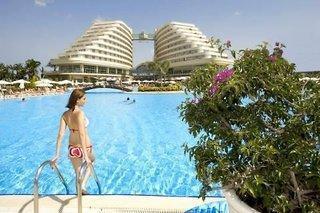 Miracle Resort, der Name sagt alles: ein Wunder! Luxuriöse und geräumige Zimmer, eine erweiterte Ultra All Inclusive Verpflegung, eine ...