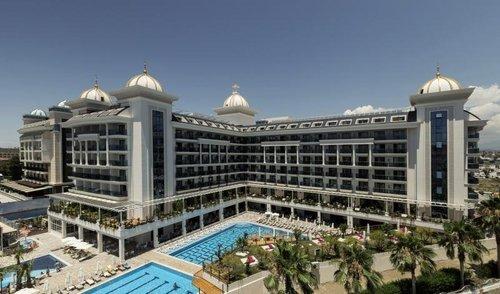 In der Ferienregion Side-Kumköy gelegen, ca. 300 m vom Sandstrand entfernt (kostenloser Shuttle Service vorhanden). Einkaufs- und ...