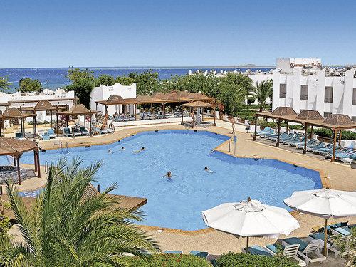 Das Hotel befindet sich direkt am hoteleigenen Sandstrand. Zum Zentrum von Safaga sind es ca. 6 km.  Ausstattung: Ferienanlage mit schönem ...