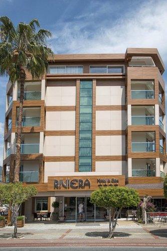 Lage: Das Hotel Riviera Hotel befindet sich 50 m vom Sandstrand entfernt. Das in Damlatas gelegene Hotel hat 193 Zimmer und wurde 2014 renoviert, ...