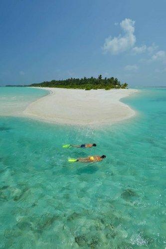 Lage: Diese traumhafte Insel (700 x 140m) befindet sich am südlichen Außenriff des Ari-Atolls, direkt neben der Schwesterinsel Sun Island ...